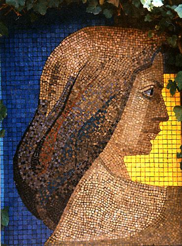 Gregorio de la fuente el mural en chile for El mural de mosaicos